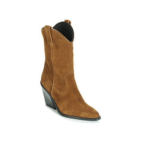 Bronx NEW KOLE women's Low Ankle Boots in Brown
