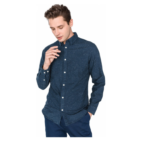 SELECTED Andrew Shirt Blue