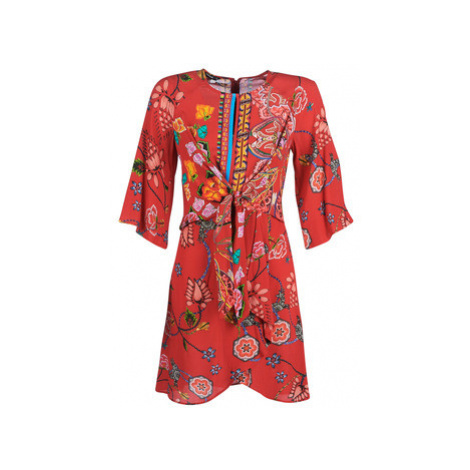 Desigual GLEN women's Dress in Multicolour