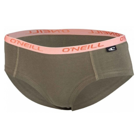 O'Neill HIPSTER STRIPES 2-PACK brown - Women's underpants