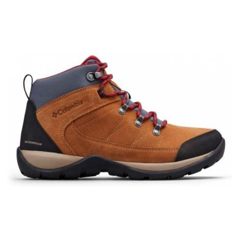 Columbia FIRE VENTURE S II MID WP brown - Women's outdoor shoes