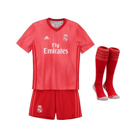 Real Madrid Third Kids Kit 2018-19 Adidas