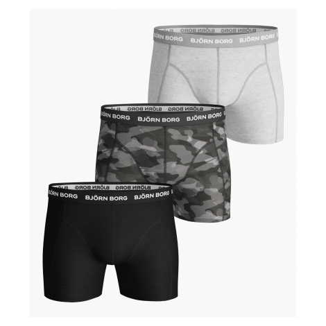 SHADELINE ESSENTIAL SHORTS 3-PACK Black Beauty Bjorn Borg