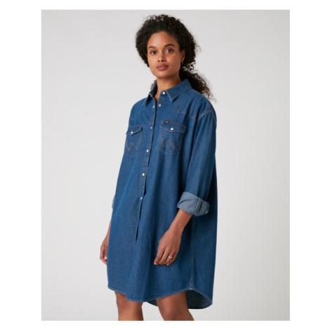 Wrangler Western Dress Blue