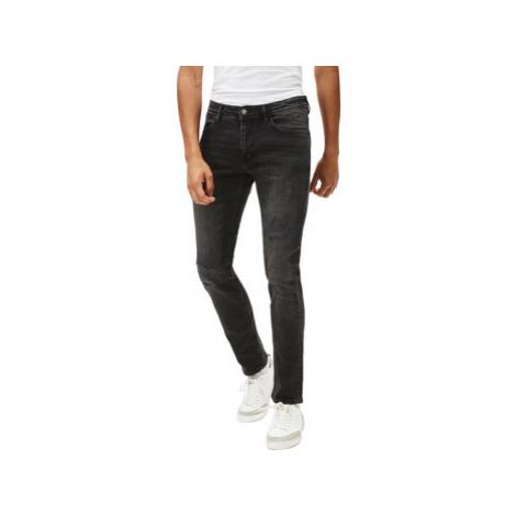 Celio Slim jeans C25 worn effect men's in Black