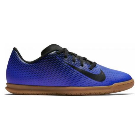 Nike JR BRAVATA IC dark blue - Kids' indoor shoes