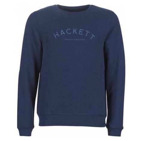 Hackett HM580714-597 men's Sweatshirt in Blue