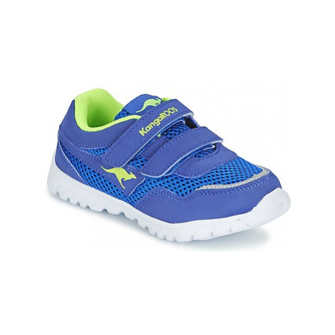 Kangaroos INLITE boys's Children's Shoes (Trainers) in Blue