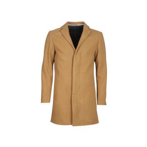 Selected SLHBROKE men's Coat in Beige