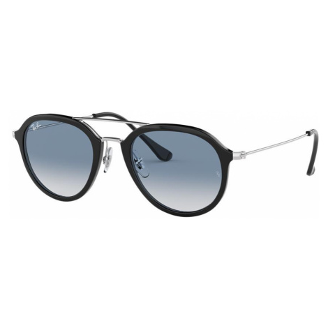 Ray Ban Unisex RB4253 - Frame color: Black, Lens color: Blue, Size 53-21/145