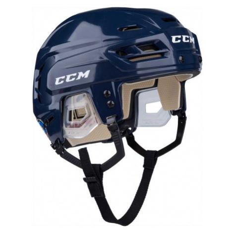 CCM TACKS 110 SR dark blue - Hockey helmet
