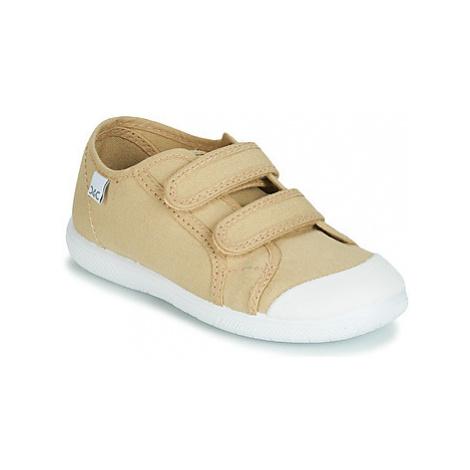 Citrouille et Compagnie JODIPADE girls's Children's Shoes (Trainers) in Beige
