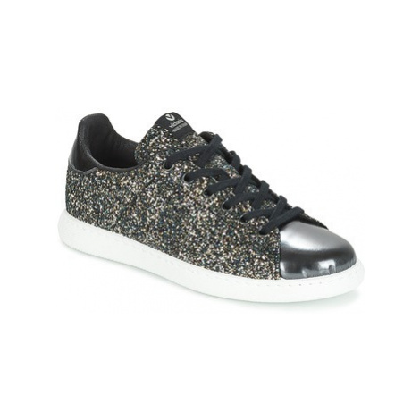 Victoria DEPORTIVO BASKET GLITTER women's Shoes (Trainers) in Black