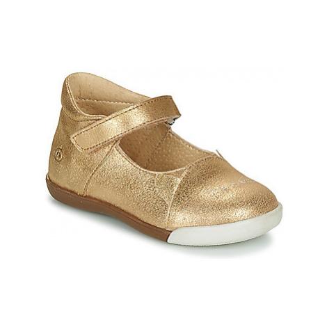 Citrouille et Compagnie LAKALA girls's Children's Shoes (Pumps / Ballerinas) in Gold