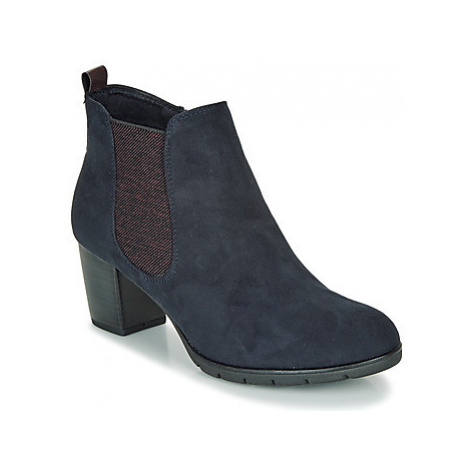 Marco Tozzi - women's Low Ankle Boots in Blue