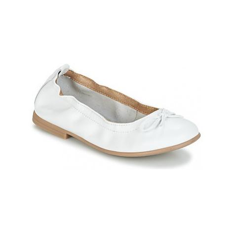 Citrouille et Compagnie JAPPALIE MOCA girls's Children's Shoes (Pumps / Ballerinas) in White