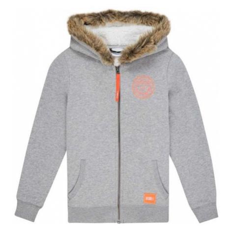 O'Neill LG ANISA SUPERFLEECE grey - Girls' hoodie