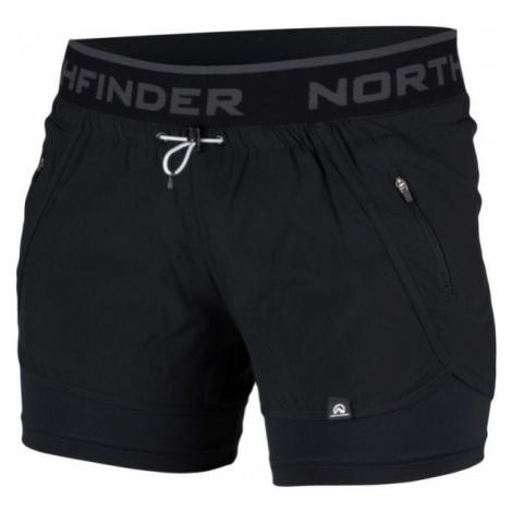 Northfinder HELEN black - Women's shorts
