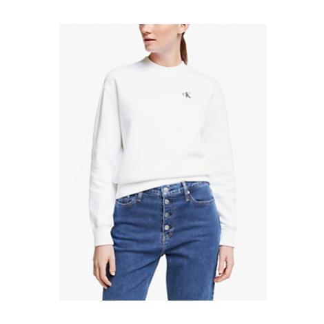 Calvin Klein Jeans Embroidered Crew Neck Sweatshirt