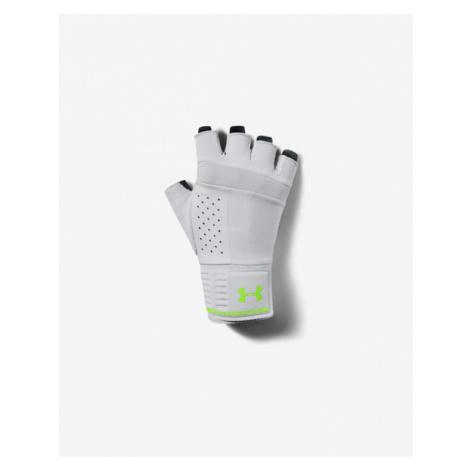 Under Armour Gloves Green Grey