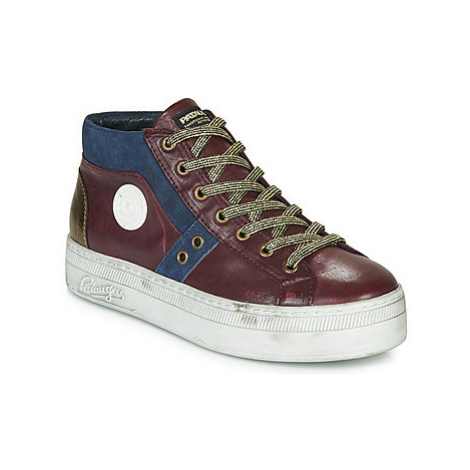 Pataugas VERA women's Shoes (High-top Trainers) in Purple