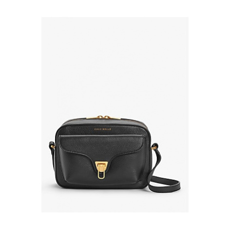 Coccinelle Beat Soft Tumbled Leather Pouch Bag
