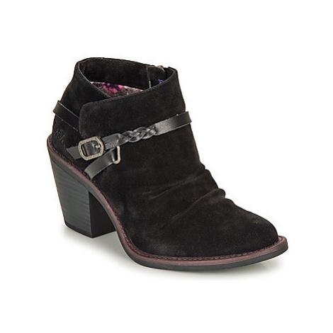 Blowfish Malibu LAMA women's Low Ankle Boots in Black