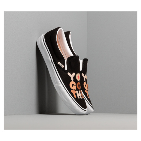 Vans Breast Cancer Awareness Classic Slip-On You Got This/ True White