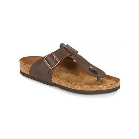 Birkenstock MEDINA men's Flip flops / Sandals (Shoes) in Brown