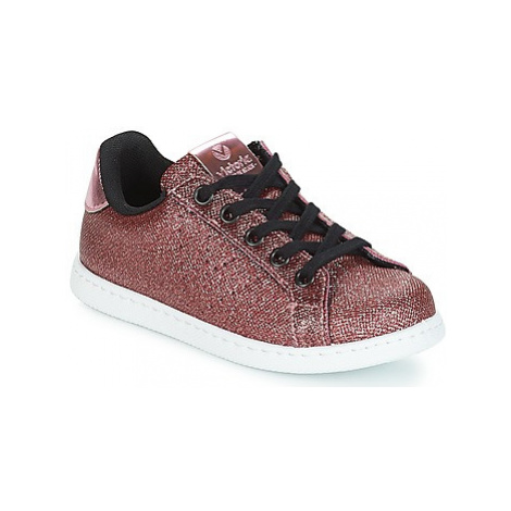 Victoria DEPORTIVO METAL CREMALLERA girls's Children's Shoes (Trainers) in Pink