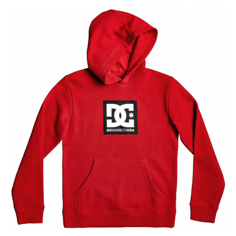 sweatshirt DC Square Star Pullover - RQR0/Racing Red - boy´s