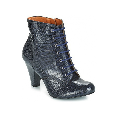 Cristofoli KARANA women's Low Ankle Boots in Blue Cristófoli