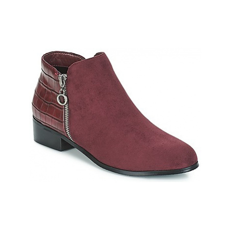 Moony Mood JADE women's Mid Boots in Red