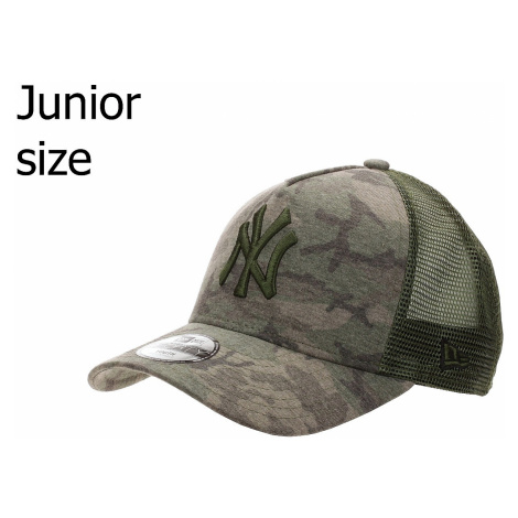 cap New Era 9FO AF Camo Trucker MLB New York Yankees Youth - Woodland Camo - unisex junior