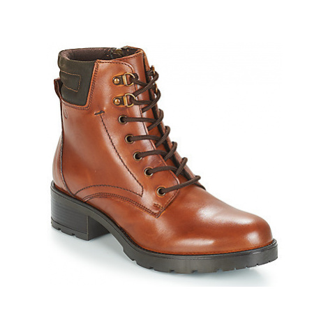 Casual Attitude JOMANIA women's Low Ankle Boots in Brown