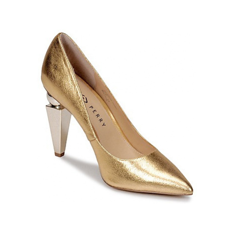 Katy Perry MEMPHIS women's Court Shoes in Gold