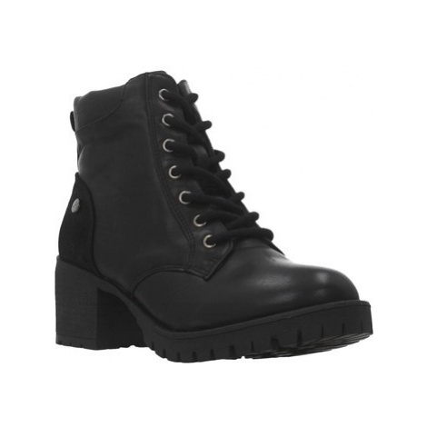 Xti 49397X women's Low Ankle Boots in Black