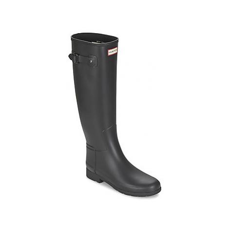 Hunter ORIGINAL REFINED women's Wellington Boots in Black