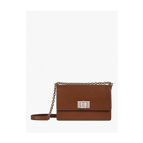 Furla 1927 Small Leather Crossbody Bag