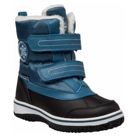 Lewro CAMERON blue - Kids' winter shoes