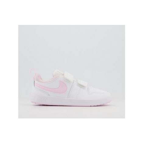 Nike Pico 5 Youth Trainers WHITE PINK