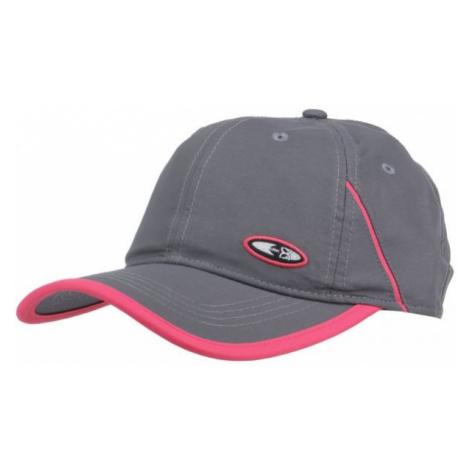 Finmark SUMMER CAP grey - Summer baseball cap