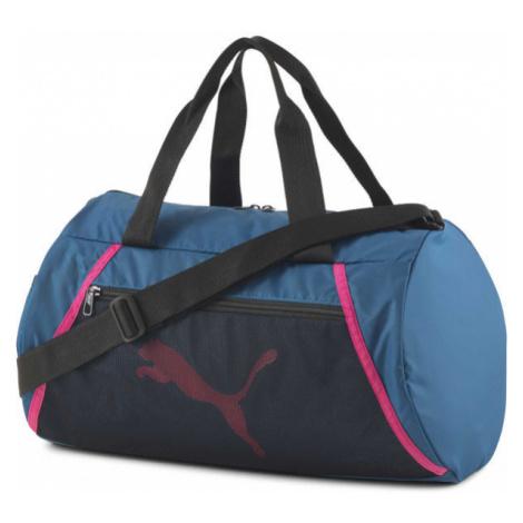 Puma AT ESS BARREL BAG blue - Sports bag