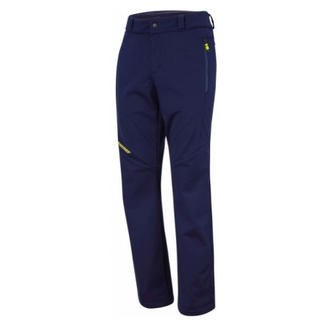 Blue men's insulated trousers