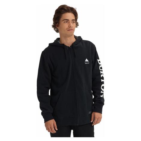 sweatshirt Burton Elite Zip - True Black - men´s