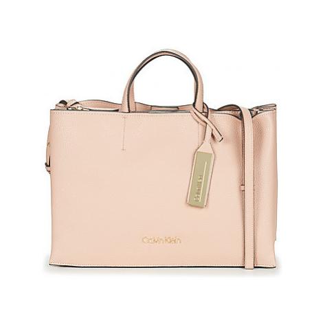 Calvin Klein Jeans SIDED LRG TOTE women's Handbags in Pink