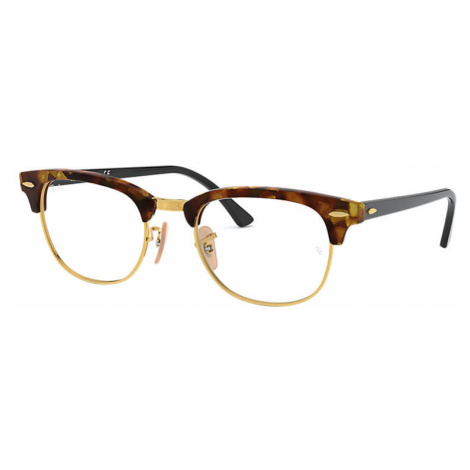 Ray-Ban Clubmaster fleck optics Unisex Optical Lenses: Multicolor, Frame: Black - RB5154 5494 51