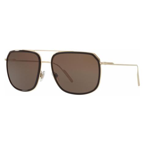 Dolce And Gabbana Man DG2165 - Frame color: Brown, Lens color: Brown, Size 58-17/140