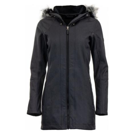 ALPINE PRO DUMUZA black - Women's softshell coat