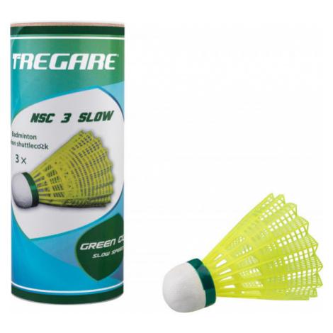 Tregare NSC 3 SLOW YELLOW - Badminton shuttlecocks